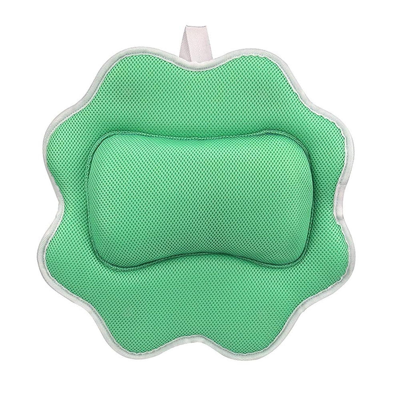 ハイライト切る提唱するサンフラワーバスピロースパマッサージ枕用アップグレード5 dエアーメッシュ技術あなたの肌と首を保護、洗濯機で洗えます