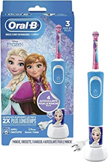 Oral-B Kids Electric Toothbrush Featuring Disney's Frozen, for Kids 3+ (Packaging May Vary)