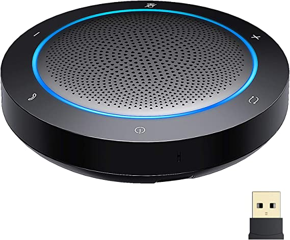 Bluetooth Speakerphone, Noise Reduction with Mic