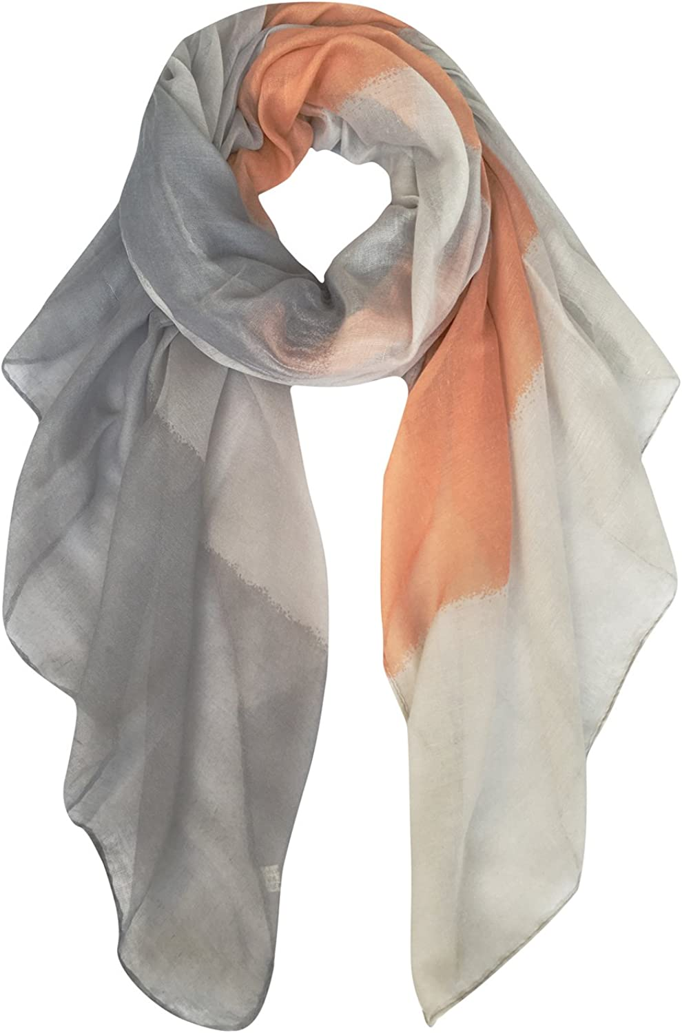 DOCILA colorBlocked Scarves, Soft Womens Wrap Scarf For Holiday