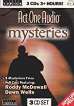 9 Mystery Stories on 3 Audio CD's ~ Special Guest Stars ~ Audiobook for home or car