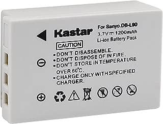 Kastar Battery 1 Pack for Sanyo DB-L90, DB-L90AU, VAR-L90, VAR-L90AU and Sanyo DMX-SH11, DMX-SH11K, DMX-SH11R, VPC-SH1, VPC-SH1BK, VPC-SH1EXBK, VPC-SH1EXR, VPC-SH1GX, VPC-SH1R Cameras