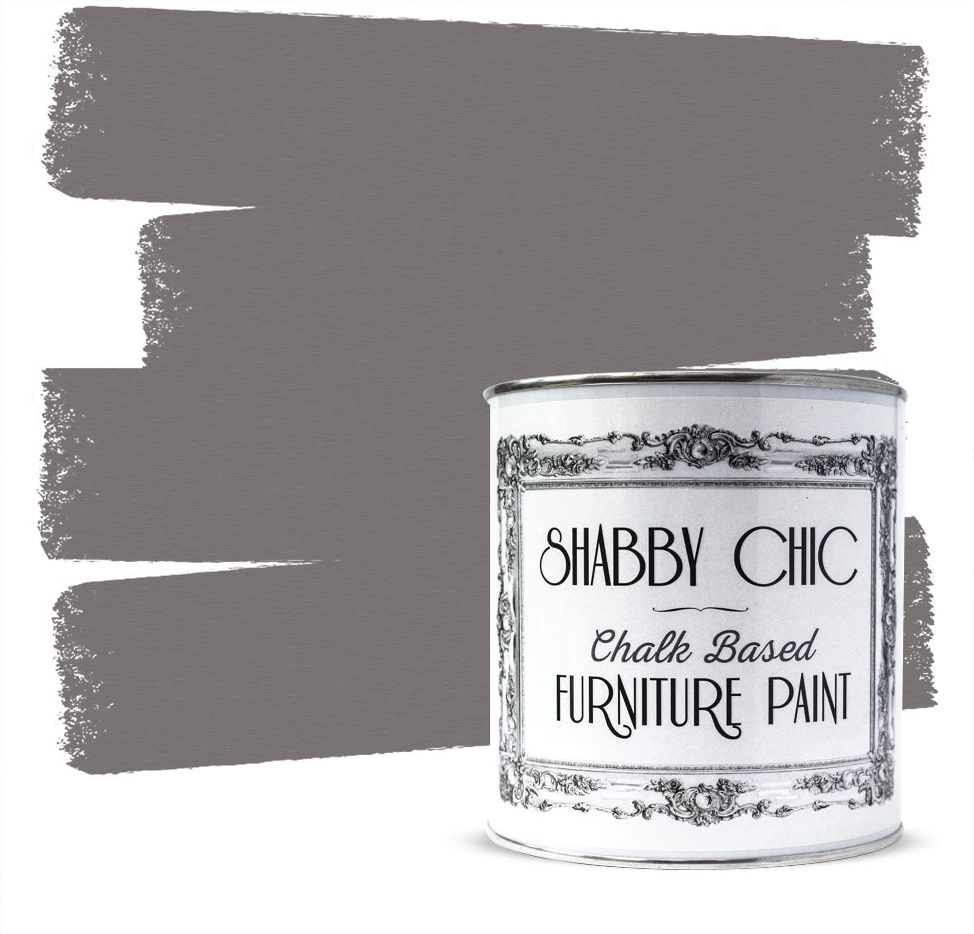 Shabby Chic Furniture Chalk Paint: Chalk Based Furniture and Craft Paint for Home Decor, DIY Projects, Wood Furniture - Chalked Interior Paints with Rustic Matte Finish - 250ml - Hot Cup Of