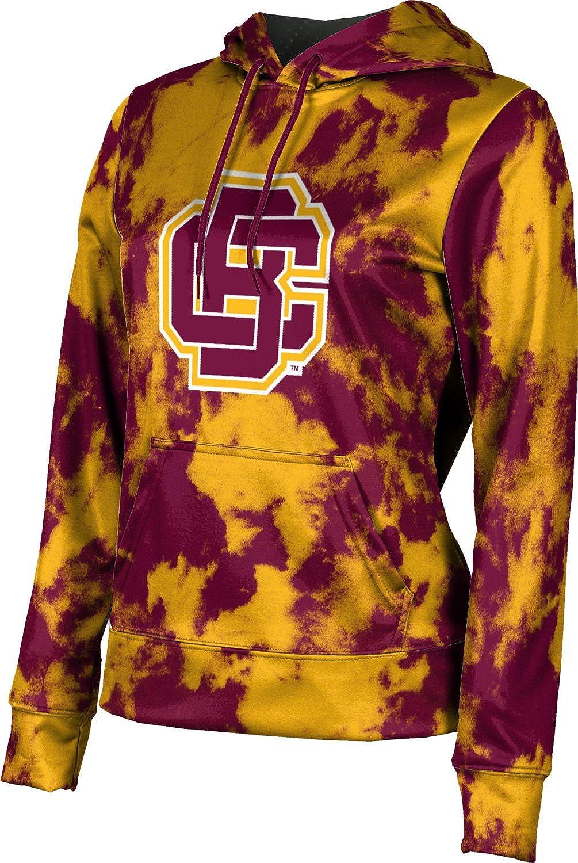 ProSphere Bethune-Cookman University Girls' Pullover Hoodie, School Spirit Sweatshirt (Grunge)