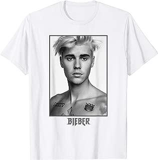 Justin Bieber Official Purpose Tour B&W Sorry T-Shirt