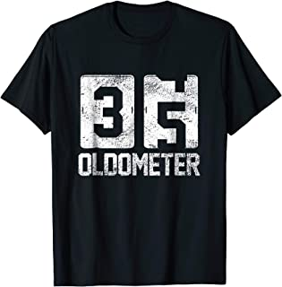 35 Oldometer Funny Odometer 35th Birthday Ideas Gift T Shirt