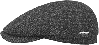 Stetson Casquette Belfast Tweed Homme - Made in The EU Gavroche pour l'hiver avec Visiere, Doublure Automne-Hiver