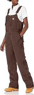 Carhartt Women's Weathered Duck Wildwood Bib Overalls