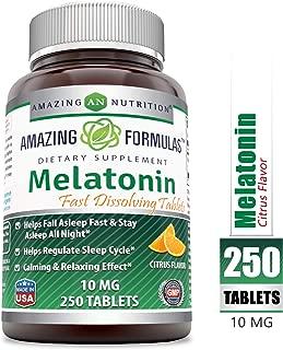 Best 10mg melatonin high Reviews