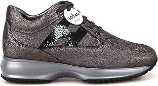 HOGAN Luxury Fashion Womens HXW00N05640LF5B401 Grey Sneakers | Fall Winter 19