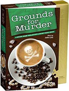 Classic Mystery Jigsaw Puzzle - Grounds for Murder