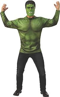 Men's Marvel: Avengers 4 Men's Hulk Costume Top and Mask Adult Costume