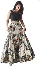 Mad Over Shopping Lehenga Choli Digital Print Lengha Skirt Women's Ethnic Wedding Party Wear