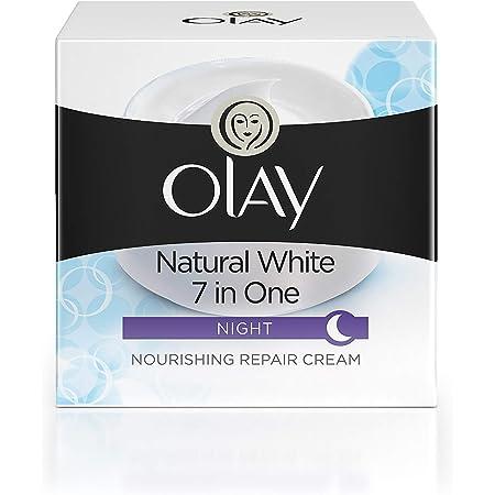Olay Night Cream Natural White Fairness Night Moisturiser, 50g