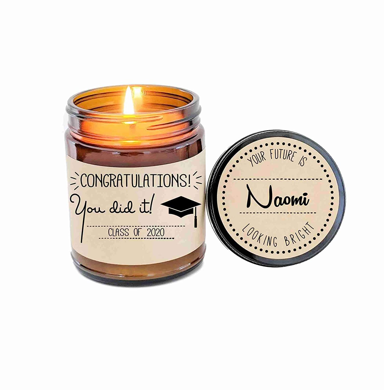 Graduation Gift Graduate Co Personalized High quality new Long-awaited Candle