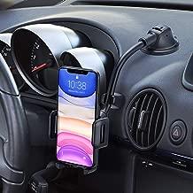 Mpow Porta Cellulare Auto, Supporto per Telefono per Auto Parabrezza del cruscotto 360 Gradi di Rotazione con Braccio Lungo Supporto Smartphone per Auto per iPhone 11, Galaxy S10, Xiaomi e GPS, ECC