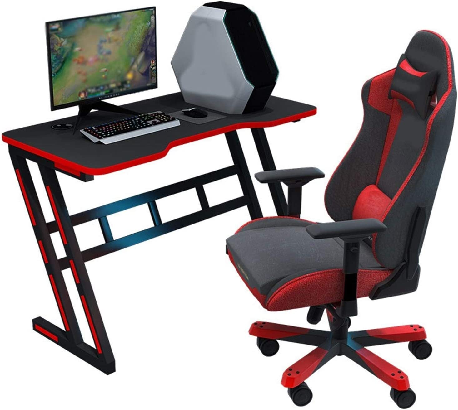 BUYT Video Game Table and We OFFer at cheap prices Max 87% OFF Gamer Professional Desk E-Sport Chair