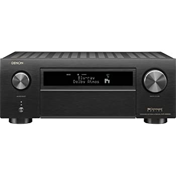 Denon AVR-X6500H Receiver - 8 HDMI In /3 Out, High Power 11.2 Channel (140 W/Ch) Amplifier | Dolby Surround Sound, Music Streaming with Alexa + HEOS