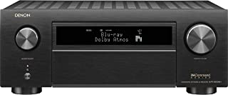 Denon AVR-X6500H Receiver - 8 HDMI In /3 Out, High Power 11.2 Channel (140 W/Ch) Amplifier Home Theater   Dolby Surround S...