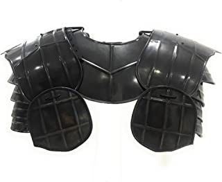 Armor Medieval Dark Drake Pauldrons Shoulder Armour One Size
