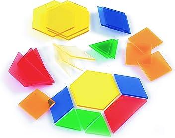 40-teilig EDX Education 54083 Kleiner Geometrieblock 25