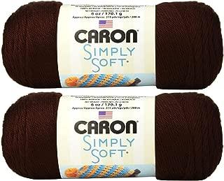 caron simply soft chocolate