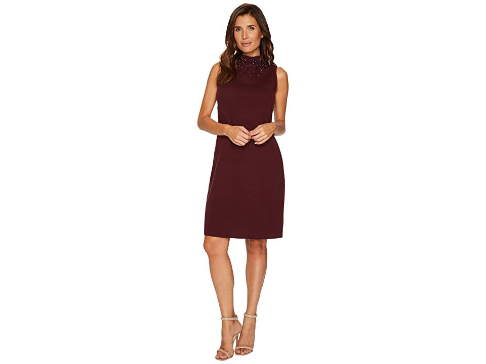 NIC+ZOE Falling Studs Dress (Port) Women