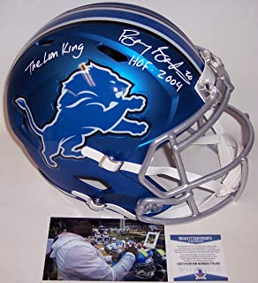 detroit lions blaze helmet
