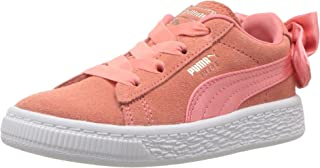 PUMA Kids' Suede Bow Slip On Sneaker