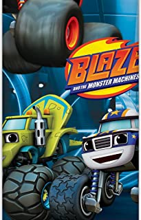 "Blaze and The Monster Machines Plastic Tablecloth, 84"" x 54"""