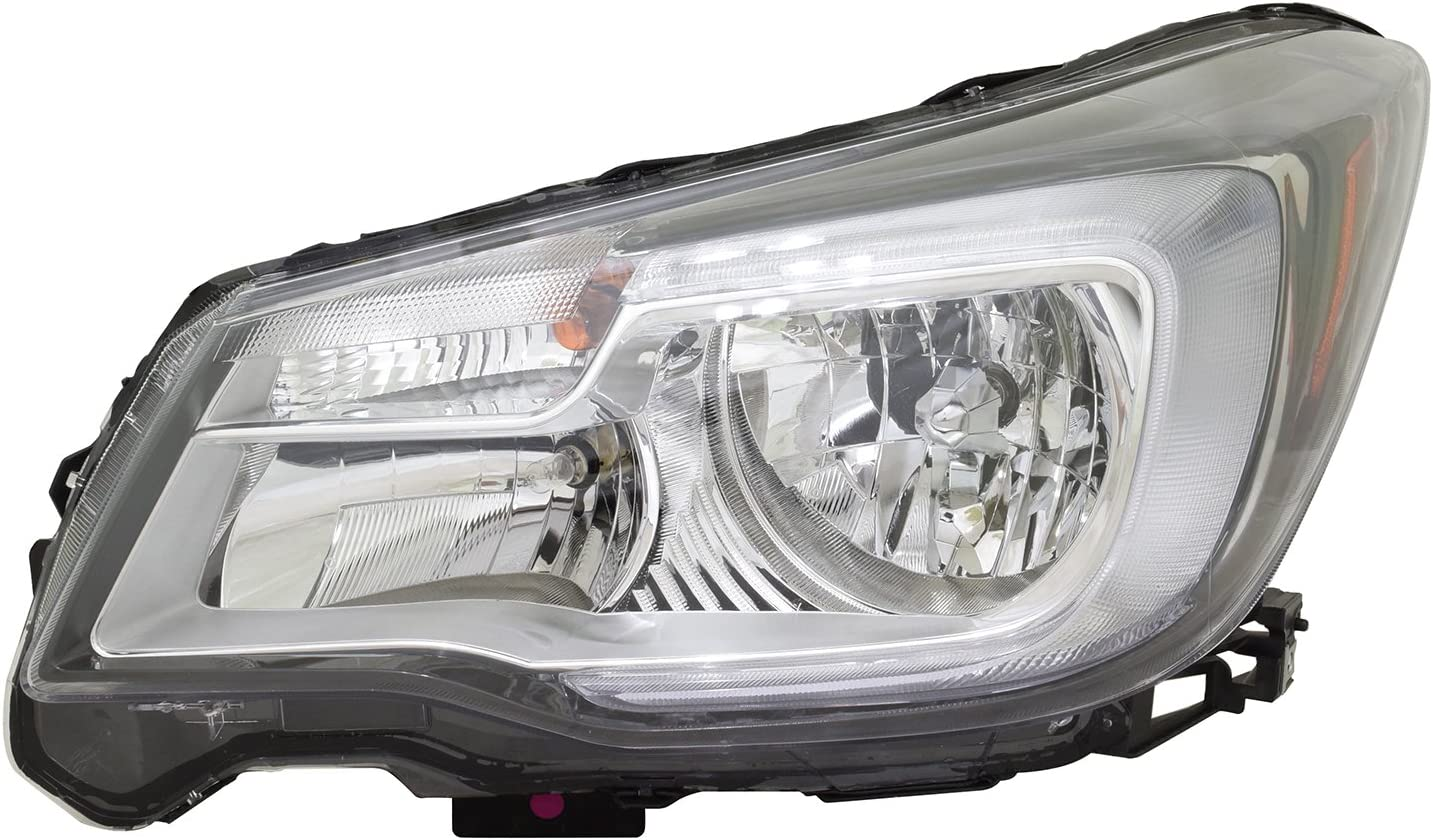 Courier shipping free HEADLIGHTSDEPOT Headlight Halogen Dedication Left 20 Driver Compatible with