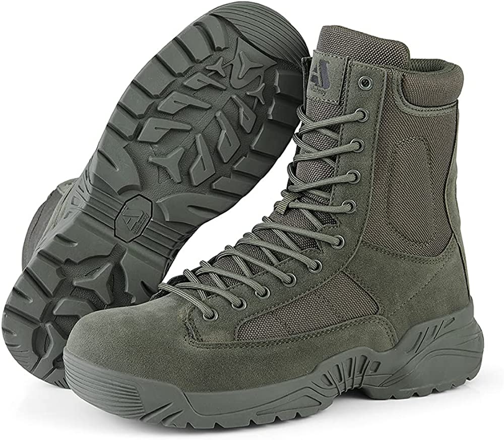 All items free shipping Men's Tactical Ranking TOP7 Boots Lightweight Durable Suede Combat Leat