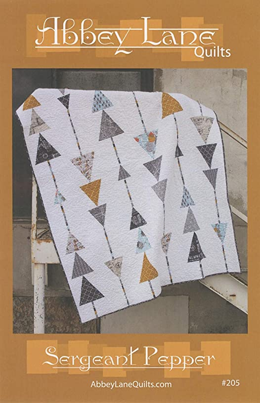 Sergeant Pepper Quilt Pattern by Abbey Lane Quilts #205 60