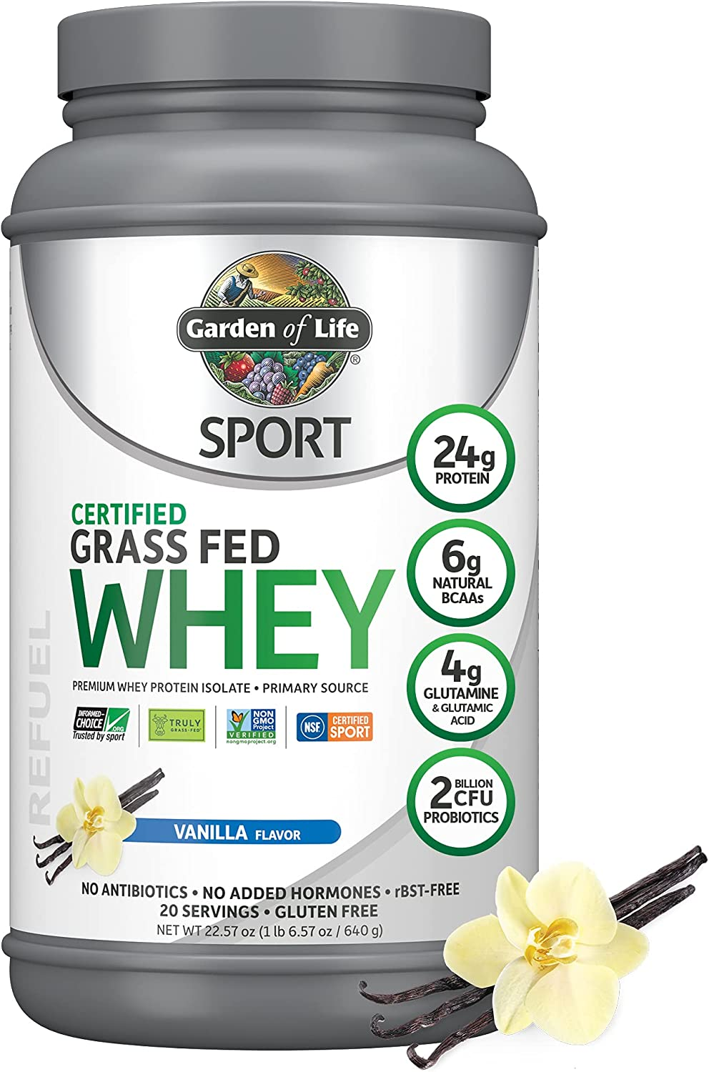Garden of Life Sport Certified Manufacturer OFFicial shop Grass Fed Whey Topics on TV Isol Clean Protein