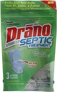 Drano Advanced Septic Treatment - 3 pk