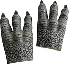 FantasyParty Realistic Velociraptor Role Play Latex Claws Halloween Dinasour Gloves Claws for Both Adult and Children (2 PCs) …