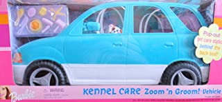 Barbie KENNEL CARE ZOOM 'n GROOM Vehicle VAN SUV w Pop Out PET CARE STATION & MORE! (2001)