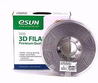 ESUN 3D PRINTER PLA FILAMENT -Silver- 1.75mm 1KG