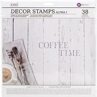 Prima Marketing IOD Decor Stamps-Alpha I