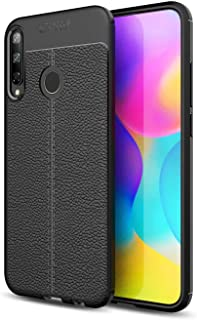 Case For Huawei Y7p Anti-Slip Ultra Thin Shock Absorption Anti Scratch Protective Cover -Black