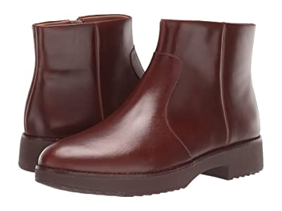 FitFlop Maria Ankle Boot (Chocolate Brown) Women