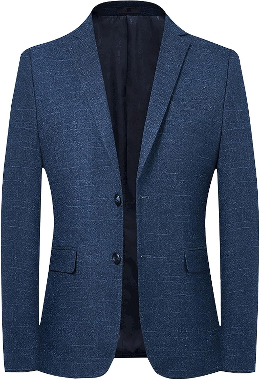 Sxfashbrd Mens Suit Slim Fit Blazer Tuxedo Jacket Formal Groomsmen Suits for Wedding Party Daily Jacket Business Coats