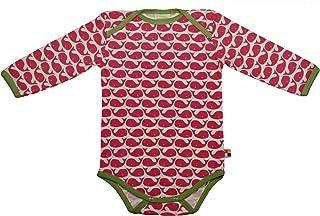 Loud + Proud - Body - Manches Longues - Mixte bébé - Rouge (Rosenrot) - FR: 1 Mois (Taille Fabricant: 50/56)