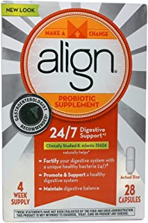 Align Digestive Care Probiotic Supplement 28 Capsules (Value Pack of 5)