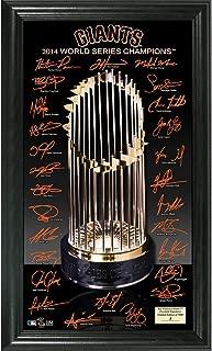 The Highland Mint San Francisco Giants 2014 World Series Champions inTrophyin Signature Photo