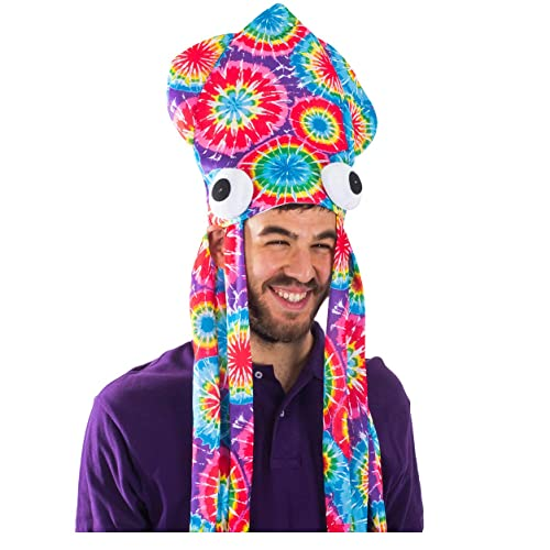 38be571baa665 Funny Party Hats Squid Hat - Funny Fun and Crazy Hats in Many Styles
