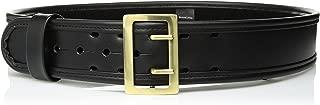 Bianchi 7960 PLN Black Sam Browne Belt with Brass Buckle