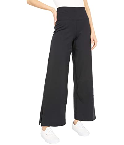 PACT Organic Cotton Split Hem Lounge Pants (Black) Women