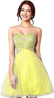 Clearbridal Women's Short V-Neck for Rose Gold Prom Dressarty Dress