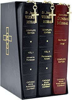 St. Joseph Daily and Sunday Missals: Complete Gift Box 3-Volume Set